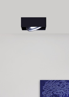 Recessed ceiling lamp