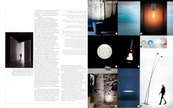 INTERNI - September 2014 - Elogio dell'ombra - Interview with Davide Groppi