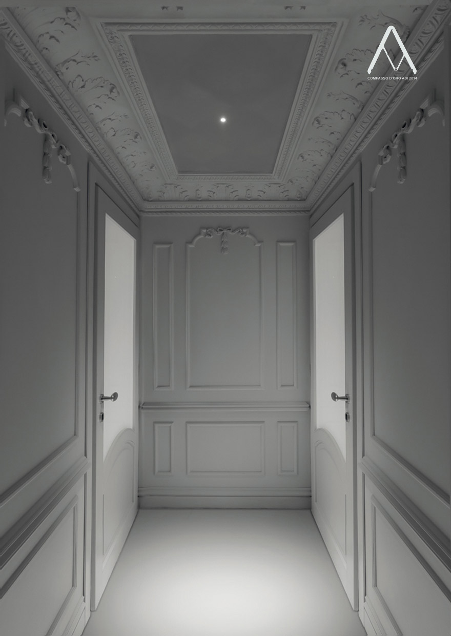 NULLA - Recessed ceiling LED lamp