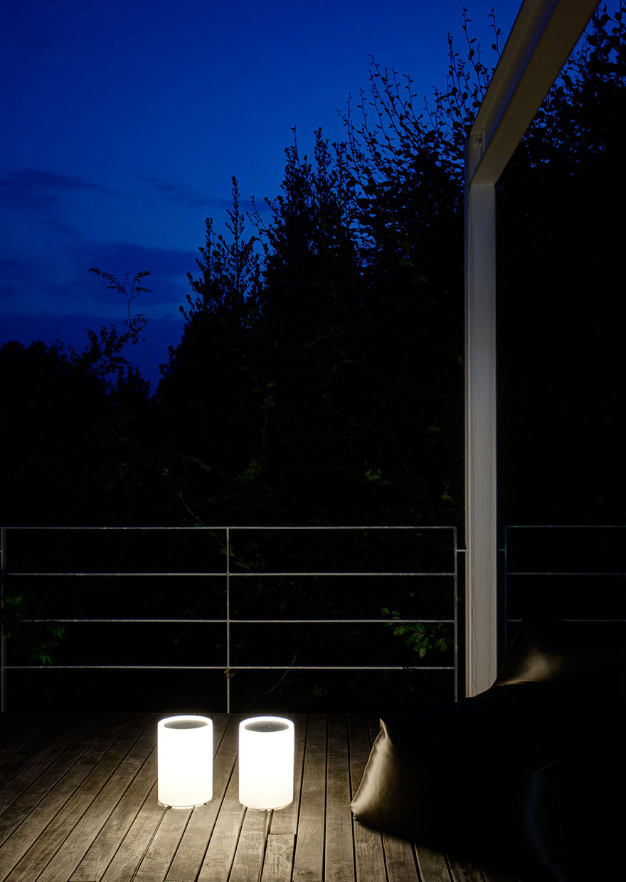 House in Biella - LENTA outdoor floor lamp