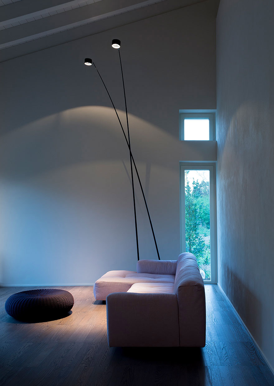 Country house - SAMPEI floor-suspension lamp