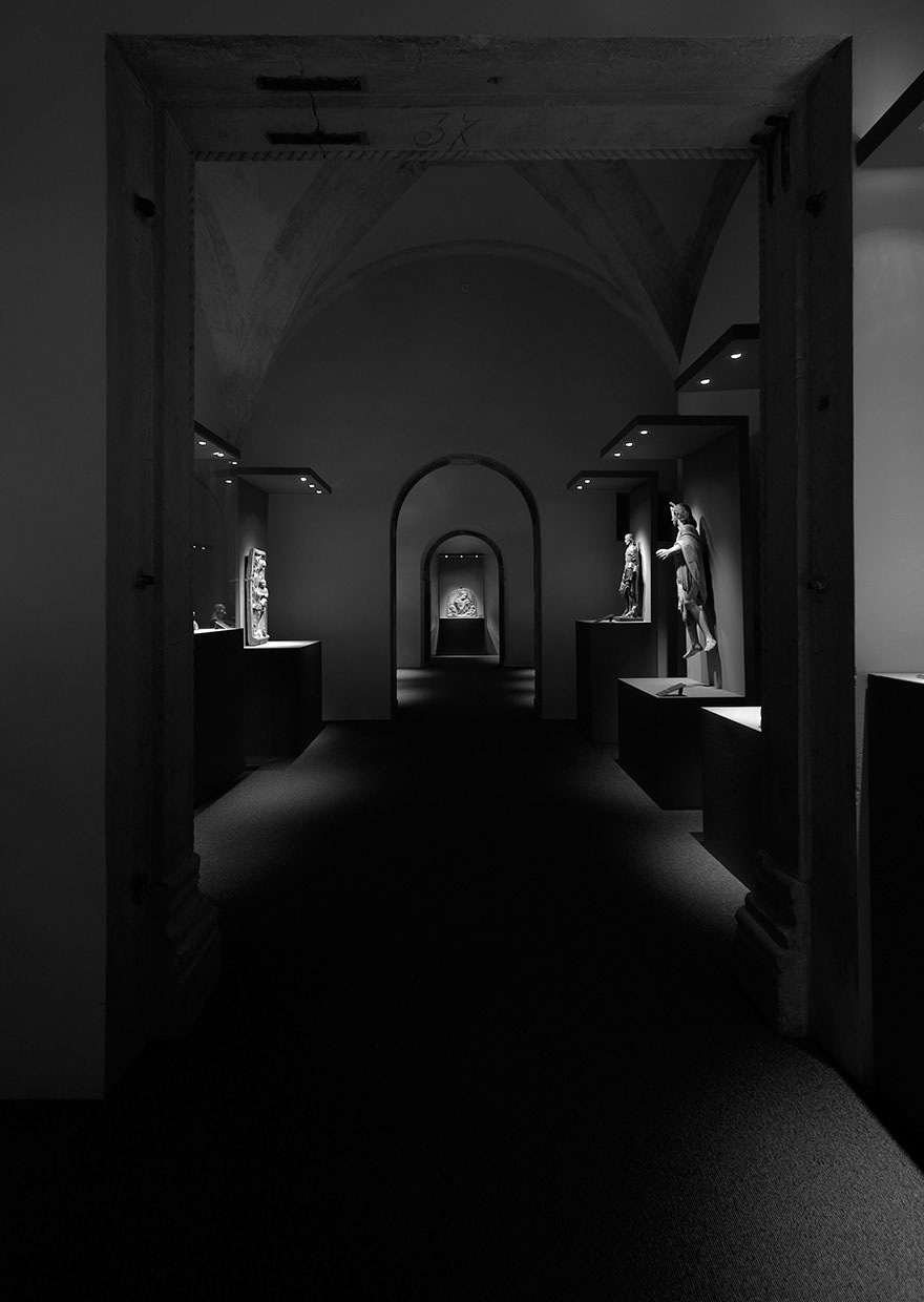 Exhibit Mantegna in Mantua - project light davide groppi
