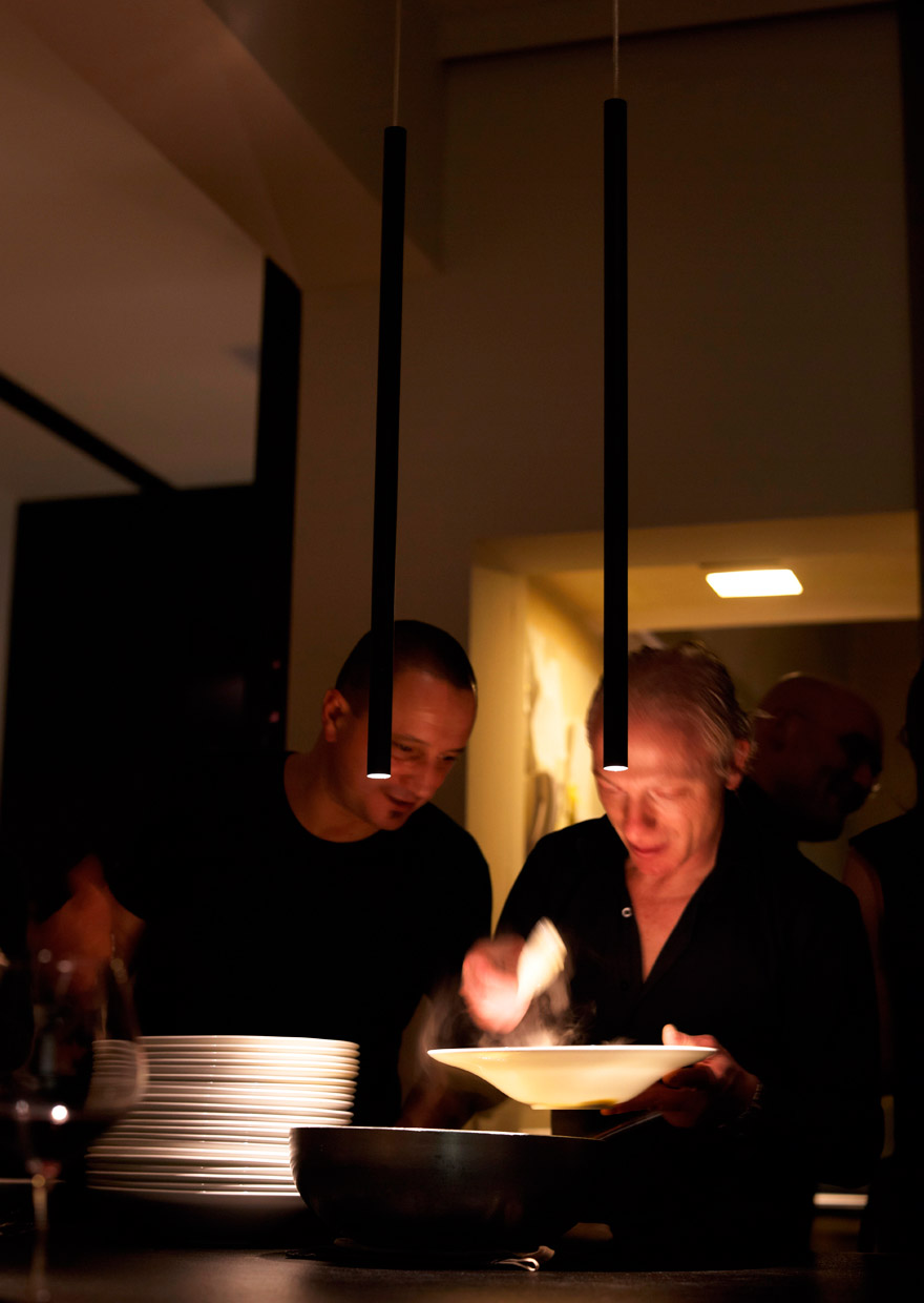 Suggerimenti Restaurant - Piacenza - light project davide groppi