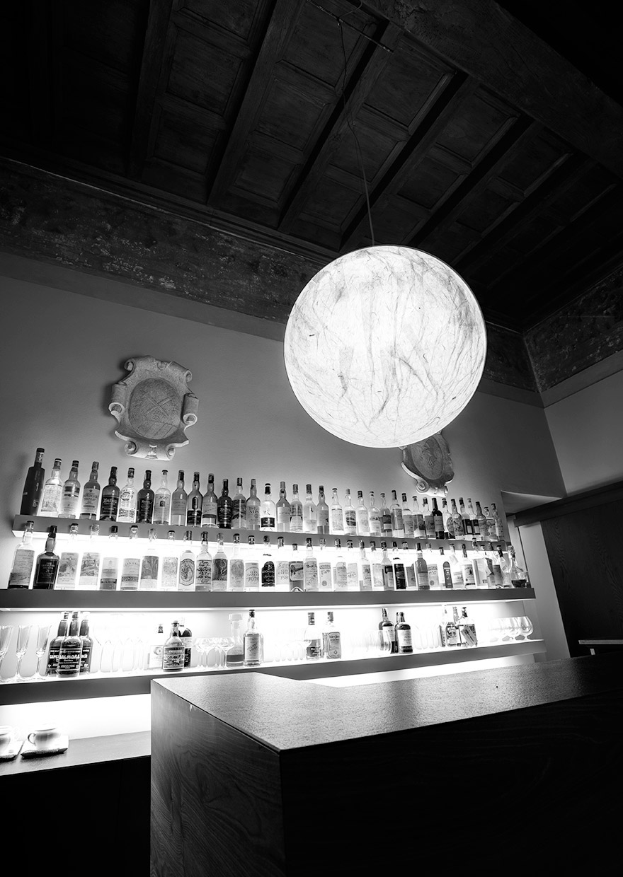 Antica Osteria del Teatro - MOON suspension lamp
