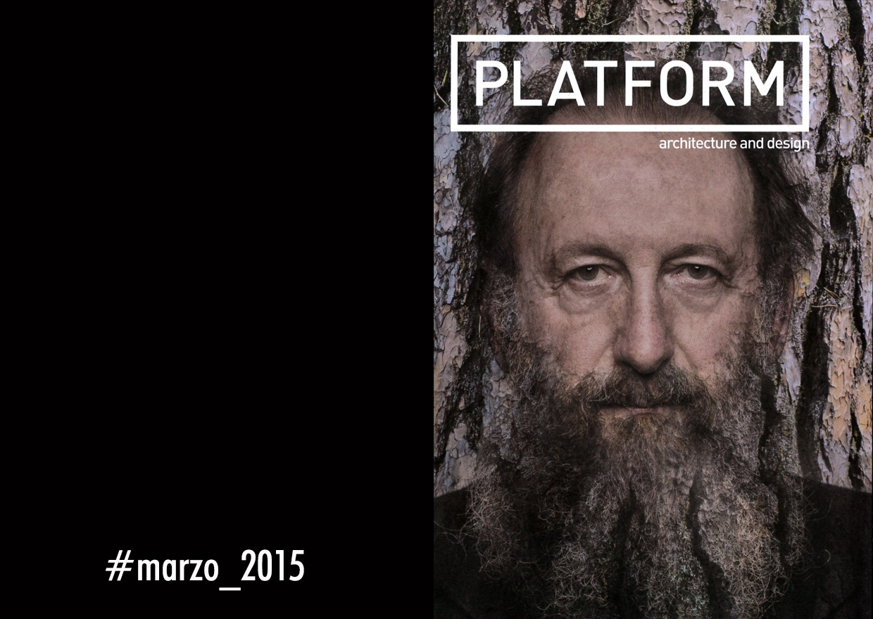 Platform - march 2015 - Davide Groppi interview