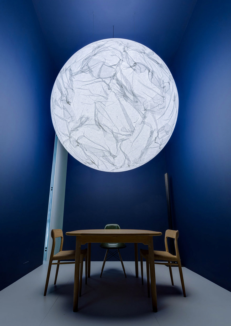 Milano Design Week 2017 - Euroluce - davide groppi - Moon