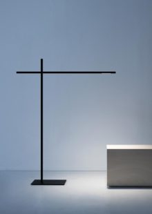 Hashi is a floor lamp conceived to provide direct light in a simple and flexible manner.<br />